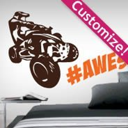 Custom Off Road wall decals
