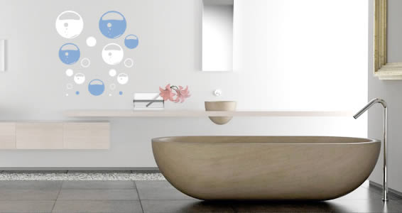 Bubble Soap -vinyl wall decals