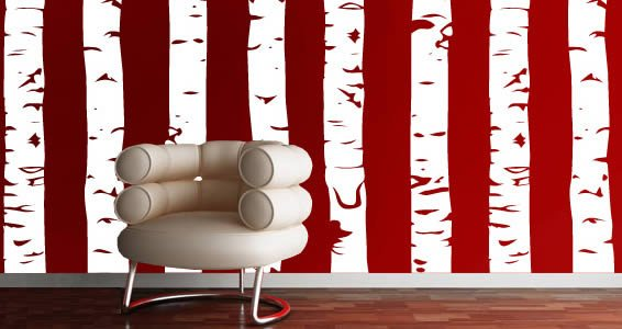 Birch Groves wall decals