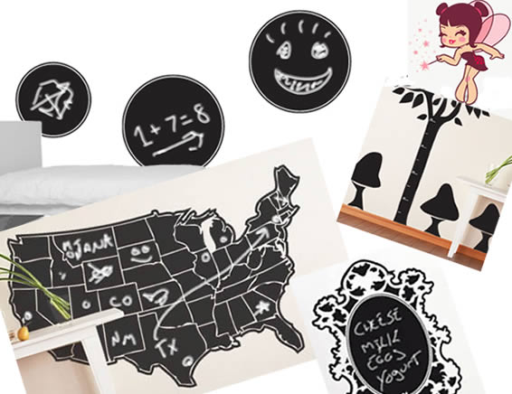 chalkboard wall decals