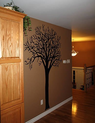 Wall Decor Stickers For Hall : Treesome decal hallway decor by liam dezign