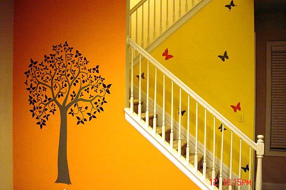 Stairway to heaven decals... an art vinyl arrangement by kofen ...