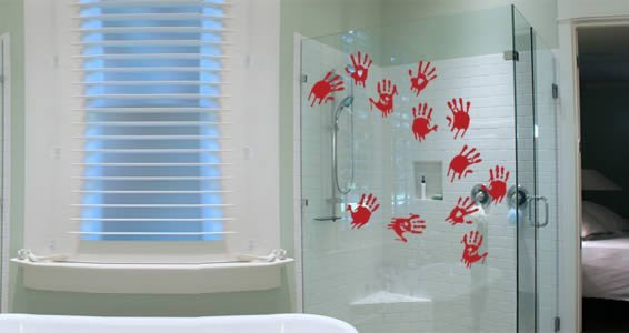 Bloody Hands Pack wall decals