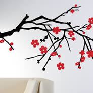 Blossom Branch decorative wall tattoos