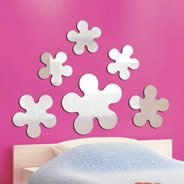 Blossom Flowers Wall Mirrors