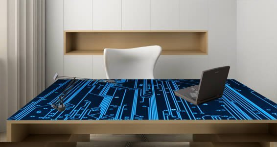 Exceptional Computer Circuit Dry Erase Decal Skins
