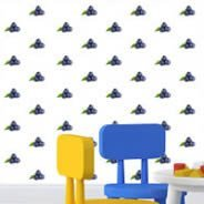 Blueberry Fruit Step and Repeat wall mural