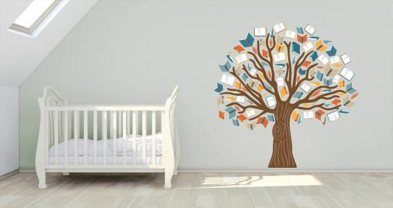 Tree Of Books Wall Decals  Dezign With A Z. Motorcycle Yamaha Decals. Medieval Dragon Banners. Corner Banners. Lowercase Stickers. Black Hole Stickers. Circle Sticker Labels. Bike Murals. H20 Logo