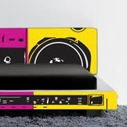 Ghetto Blaster Dry Erase wall decals skin