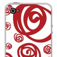 Brazilian Swirls iPhone decals skin