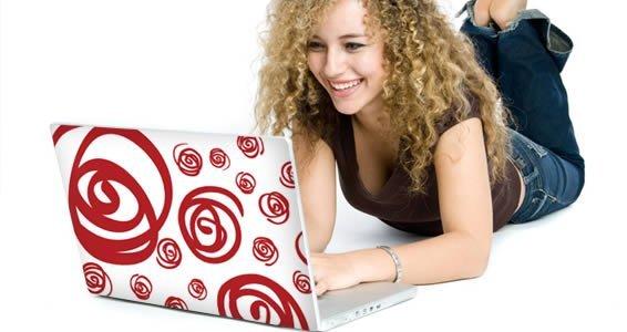 Brazilian Swirls skin for laptop
