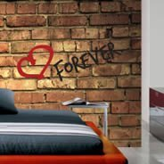 Dry Erase Old Bricks Wall decal