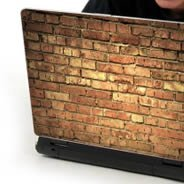 Old Bricks laptop decals skin