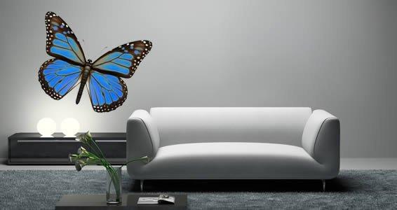 Monarch Butterfly Car Vinyl Sticker SELECT SIZE