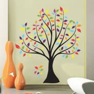 Colorful Tree wall decals