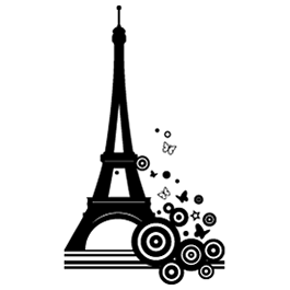 Bubble Tower Eiffel Decals