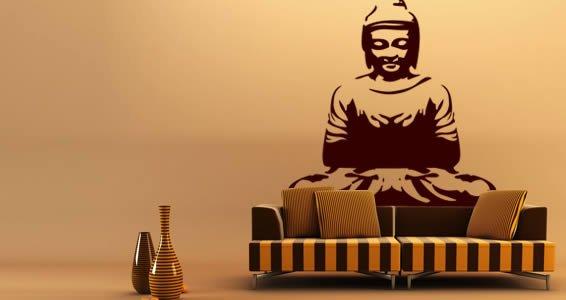 Buddha large wall decals
