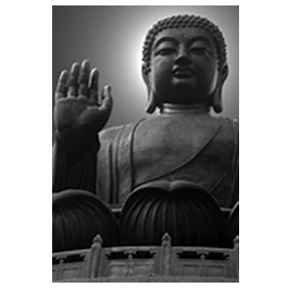 Buddha digital pictures on canvas