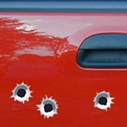 Bullet Holes car decals