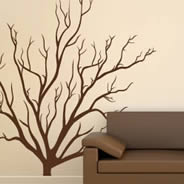 Branch Bush wall decals