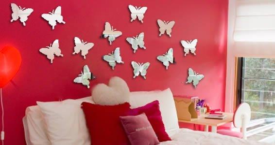 Butterflies Wall Mirrors