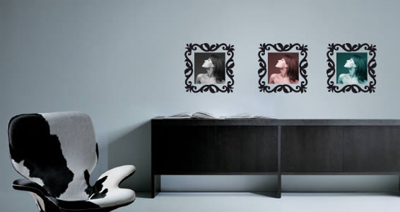 My Picture Frames set of 3 wall decals