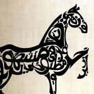 Giant horse wall decals