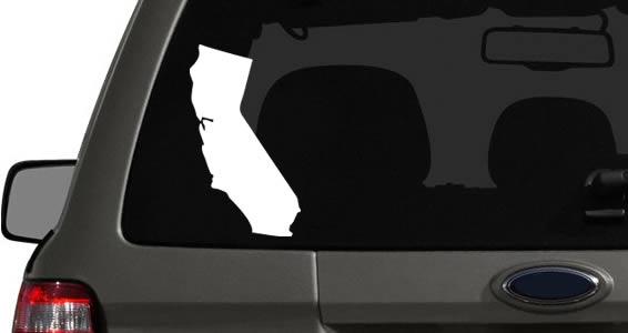 US States car decals