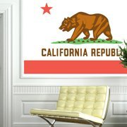 US States Flags wall decals
