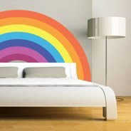 Calm Rainbow wall decal