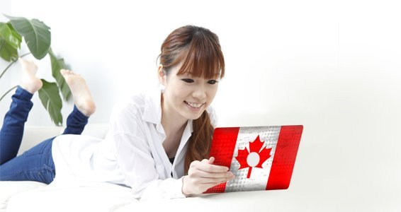 Canadian Flag skin for iPad