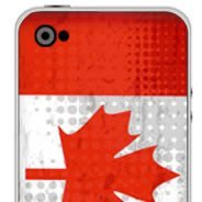 Canadian Flag  iPhone decals skins