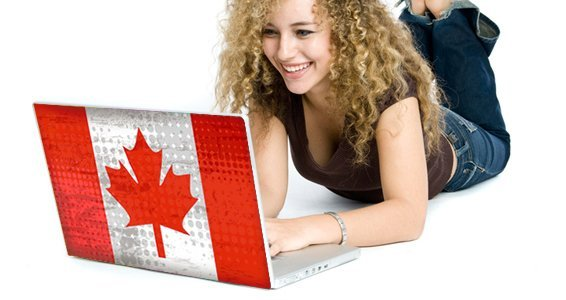 Canadian Flag computer laptop decals skin