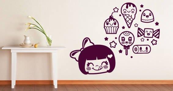 Cream Dreams stick ons for children