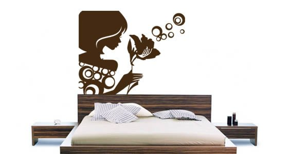 Caroline wall decals