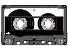Cassette Tape  iPad decal skin