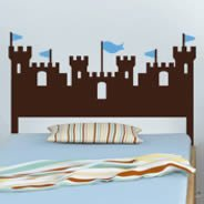 Castle Headboard wall decal