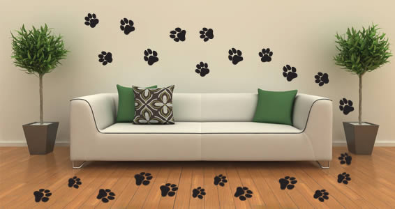 Cats & Dogs prints wall decals