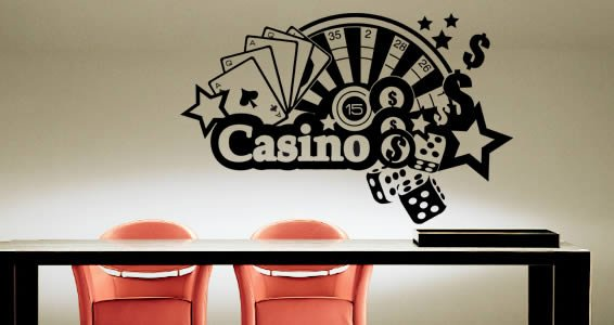 Casino Royal removable appliques