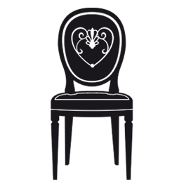Chair wall decals