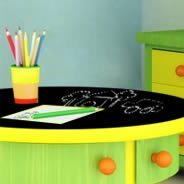 Chalkboard Furniture Skin Decals