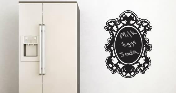 Draw my Reflection chalkboard wall tattos & Draw my Reflection chalkboard wall tattos | Dezign With a Z