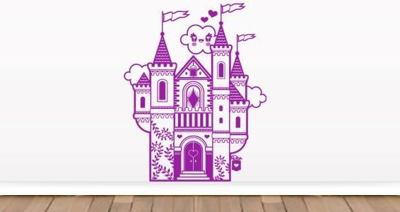 My Castle nursery room wall tattoos