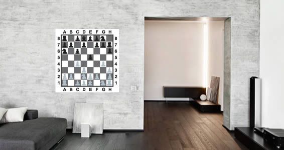 Checkmate Chess Board wall decals