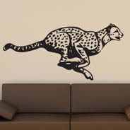 Cheetah wall decals