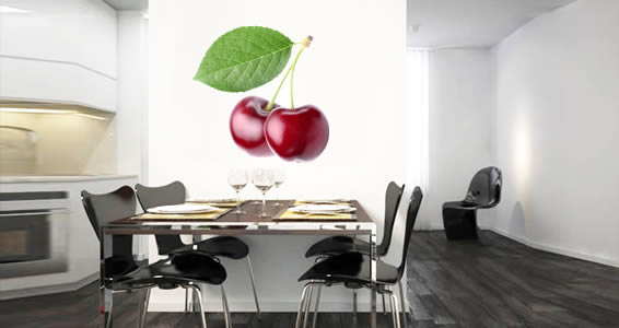 Cherry wall decals