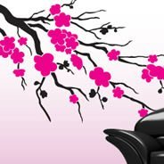 Cherry blossom wall cut outs decals