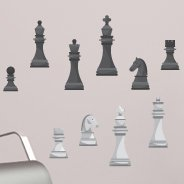 Chess Pieces wall decals