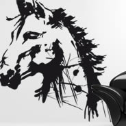 Artsy Horse wall decals