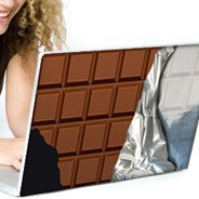 Choco Bar laptop decals skin